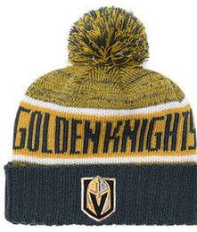 fitted skull caps Australia - Vegas Golden Knights Ice Hockey Knit Beanies Embroidery Adjustable Hat Embroidered Snapback Caps Orange White Black Stitched Hat One Size 02