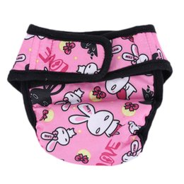 underwear dogs Canada - Pet Large Dog Diaper Sanitary Physiological Pants Washable Female Dog Shorts Panties Menstruation Underwear Briefs Short