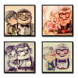 5D DIY Diamond Painting Full Drill Round Square Cartoon Old Couple Rhinestone Embroidery Diamond Mosaic Art Cross Stitch Decor on Sale