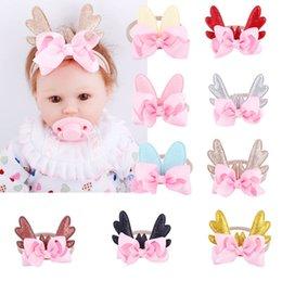 Headbands Bow Australia - Christmas hair bows baby designer headband Girls designer headbands baby headbands hair accessories for girls Headband kid Hair Sticks A4674
