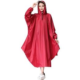 $enCountryForm.capitalKeyWord UK - Long Rainproof Jacket Hooded Raincoat PVC Adult Cover Rain Coat Hat Suit Cape Gear Poncho Feminino Deszcz Raincoat Baby 50KO188 #319422