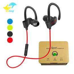 Red bass online shopping - 56S Wireless Bluetooth headphones Waterproof IPX5 Headphones Sport Running Headset Stereo Bass Earbuds Handsfree With Mic
