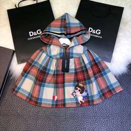 Discount italian fabrics - New Children's Clothing Cloak Made Of Soft Italian 30% Wool Fabric To Make It Soft And Delicate To Keep Hooded Cloa