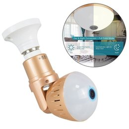 Security camera light online shopping - 2MP MP HD Wireless IP Camera Bulb Light FishEye Degree D VR WIFI Mini Panoramic Home CCTV System Security Bulb Camera