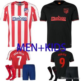 $enCountryForm.capitalKeyWord Australia - 2019 2020 Atletico Madrid GRIEZMANN Home away 19 20 Soccer Jersey Thai quality KOKE SAUL DIEGO COSTA TORRES CORREA adult + kids Jersey kit