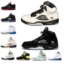 Fresh Fishing online shopping - New Arrival s Mens Basketball Shoes Wings Fresh Prince PSG Black White Camo Grey Laney Oreo Designer Shoe Sports Men Trainers Sneakers