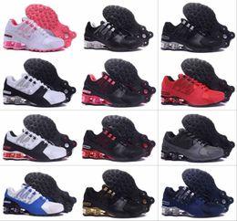 3e08048e0f1640 2019 Mens Shox Avenue 802 803 Running Shoes Chuassures Shox Nz Basketball Shoes  Top Quality Nz Sport Shoes Sizes EU40-46