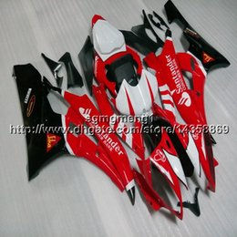 Yamaha Yzf R6 Cover Australia - Gifts+Botls Injection mold red motorcycle cover for Yamaha YZF-R6 2006-2007 06 07 YZFR6 ABSmotor Fairing