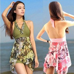 floral tankini top Australia - Free shipping Women Sequins Tankini Top+Short Halter Pad Swimsuits Iregular Swimwear Plus size MSW001