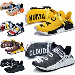 $enCountryForm.capitalKeyWord Australia - PW Human Race Trail Hu Men Tennis Shoes Pharrell x Billionaire Boys Club Yellow Nobel ink Pale Nude Equality Orange Womens Mens Trainers