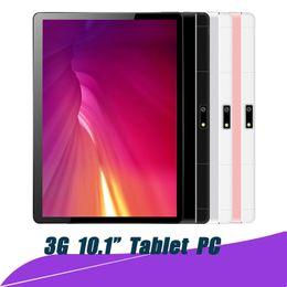 ТОП 10-дюймовый оригинальный дизайн 3G телефонный звонок Android 7.0 Quad Core 1G + 16G Android планшетный ПК WiFi Bluetooth GPS IPS таблетки 10.1 с пакетом