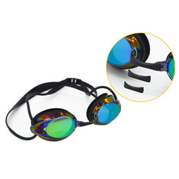 $enCountryForm.capitalKeyWord Australia - Men Women Outdoor Water Sports Swimming Glasses Adult waterproof anti-fog colorful plating swim goggles with nose bridge replace