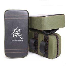 Sports & Entertainment Punching Bag & Sand Bag Hearty New Boxing Pads Thai Kick Boxing Strike Pads Muay Arm Punch Mma For Boxing Taekwondo Foot Target Green