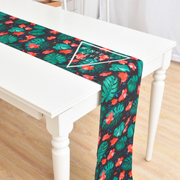 Easter Cotton Linen Rabbit Eggs Printed Tablecloth Table Flag Home Decor Table Runner Table Mat Modern Easter Suppries Living A4 Home Textile Tablecloths