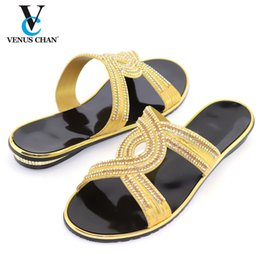 gold color match NZ - 2020 New Style African Ladies Matching Shoe Without Bag Material with Pu Italian for Party in Gold Color