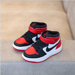 df3b9626 Детская обувь для мальчиков спортивная повседневная обувь для девочек  Кроссовки осень 2019 года новая корейская версия кроссовок Wild Tide для  баскетбола ...