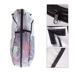pvc poles Australia - PVC Waterproof Golf Bag Hood Rain Cover Shield Outdoor Golf Pole Bag Cover Durable Dustproof Accessories 8