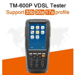 Lan tester networking online shopping - VDSL2 Tester Support b a a Profile VDSL ADSL xDSL WAN LAN Tester DMM Tester FTTx Network Cable Test basic version TM600P
