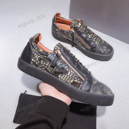 shoes zipper side NZ - 2020 personalized stylish men's shoes with light and comfortable feet, real shooting, side zipper explosion casual shoes Xshfbcl Size 38-44
