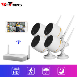 Kit mini camera wireless online shopping - Wetrans Mini WiFi CCTV Camera P Security System Kit IP66 Waterproof Camera Surveillance Set Wireless Audio Beveiligings Cam