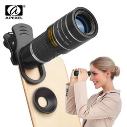 $enCountryForm.capitalKeyWord Australia - Apexel Optic Phone Camera Lens 20x Telescope Telephoto Monocular Lens For Iphone X 7 8 Plus Xiaomi Htc Other Smartphone T20x J190704