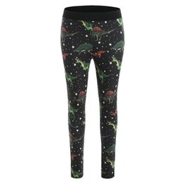 $enCountryForm.capitalKeyWord UK - Fashion Women Yoga Fitted Dinosaur Sport Slim Leggings Elastic Waist Long Pants High Waist Sport Leggings Women Black 2018 #LRSS