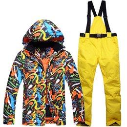 $enCountryForm.capitalKeyWord Australia - Heilsa Brand Ski Suit Women Suit Hot Waterproof Ski Suits Ladies Sport Outdoor Winter Coats Snowboard Snow Jackets And Pants