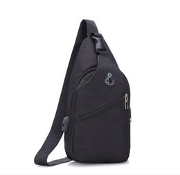 a616b53c81a6 Explosion models simple men s chest bag Europe and the United States tide shoulder  bag Messenger sports youth bag Free shipping