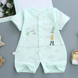 $enCountryForm.capitalKeyWord Australia - Newborn baby rompers boys girls toddler cotton sleepwear for bebe infant soft jumpsuit baby clothing Rompers