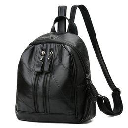 $enCountryForm.capitalKeyWord UK - Nice2019 Soft Woman Package Leisure Time Guard Against Theft Both Shoulders Backpack Joker A Leather Bag