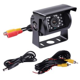Front View Parking Camera Australia - Backup Car Camera IR Night Vision Without Color Change Waterproof 4 Pin Aviation Connector Front View Camera for Bus RV Truck Trailer Heavy