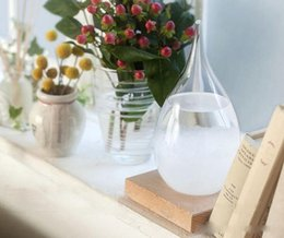 Storm Glasses Australia - Weather Forecast Crystal Bottle Transparent Water Drop Storm Glass Crystal Tempo Water Drop Globes Creative Storm