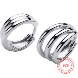 $enCountryForm.capitalKeyWord UK - 2019 trending valentines wedding love knot twist multilayer circle hoop gold plated S925 sterling silver earring