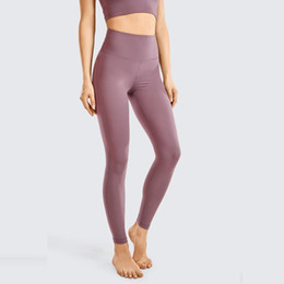 soft naked women 2020 - Naked Feeling Soft Women's Reflective High Waisted Leggings Yoga Pants Workout Leggings-25 Inches discount soft nak