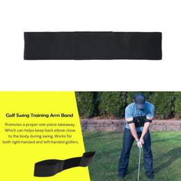 $enCountryForm.capitalKeyWord Australia - Aids Golf Practice Arm Posture Motion Black Correction Belt Adjustment Posture Belt Golf Training