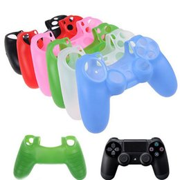 $enCountryForm.capitalKeyWord Australia - Colorful Silicone Rubber Soft Gamepad Handle Case Skin Cover For PS4 Wireless Controller Grip Handle Console