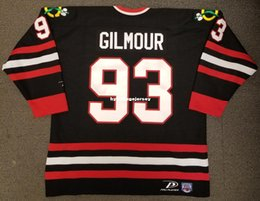 $enCountryForm.capitalKeyWord NZ - Wholesale Custom Doug Gilmour Vintage Chicago Blackhawks Pro Player Cheap Hockey Jersey Black Mens Retro Jerseys