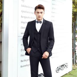 Studio Suits Australia - Men in black suits the groom wedding photo studio theme suit hosted wedding dress wedding singer
