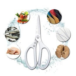 $enCountryForm.capitalKeyWord Australia - Multifunction Stainless Steel Kitchen Scissors With Sharp Knife Blade Poultry Shears Chicken Bone Fish Scissor Kitchen Tools DBC DH1112