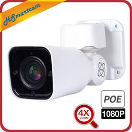 Ip camera ptz poe online shopping - 1080P MP PTZ SONY323 IP Camera POE mm X ZOOM Waterproof Camera Outdoor H LED IR CCTV Security V POE