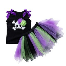 $enCountryForm.capitalKeyWord UK - bay girls suit dresses kid tutu dress baby party clothing 2-7 years old childrens garments two-piece dress baby halloween clothes