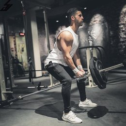 $enCountryForm.capitalKeyWord NZ - Brand Mens T Shirts Summer Cotton Slim Fit Men Tank Tops Clothing Bodybuilding Undershirt Golds Fitness Tops Tees