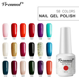 paint for wine glasses Australia - Vrenmol 8ml Glass Bottle Pure Color Painting Gel Nail Polish UV Lamp for Gel Varnish Base and Top Glue Nail Design Lacquer
