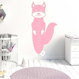 Squirrel Wall Stickers Australia - Squirrel Growth Chart Wall Decal Animal Growth Chart Wall Sticker Squirrel Removalble Wall Decor 738N