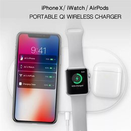 Wholesale Air Power Magnetic Charge Dock Charging Cable Wireless Charger for Apple Watch iWatch Fast Charging for iphone for Airpods Earbuds