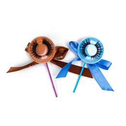 $enCountryForm.capitalKeyWord NZ - In stock 100% handmade lollipop lashes packaging with logo cruelty free eye lashes MOQ 10 pairs strip false eyelashes