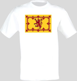 Wholesale Coat of Arms Of The Scotland Scottish Arms Flag T Shirt All Sizes