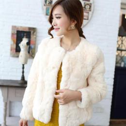 White Faux Fur Shorts Australia - Fluffy Women Faux Fur Coats 2019 Winter White Faux Fur Coat Women Fluffy Long Sleeve Outerwear Black Shaggy Jackets M916