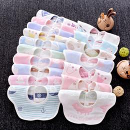 $enCountryForm.capitalKeyWord NZ - High Quality Natural Safety Cute Flower Cotton Gauze Microfibre Baby Napkin Bibs Baby Face Towel Saliva Towel Cotton