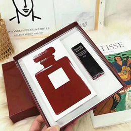 $enCountryForm.capitalKeyWord Australia - HOT Maquillage Matte rouge a levre Lipstick Lip Gloss + Perfume 100ml 2pcs in 1 fragrance Set